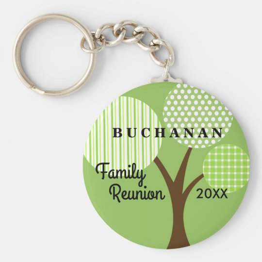 Whimsical Tree Family Reunion Dated Souvenir Gift Basic