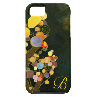 Whimsical Trees Monogram iPhone 5 Case-Mate