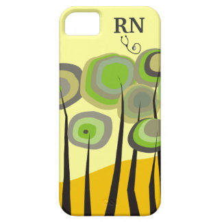 Whimsical Trees Registered Nurse iPhone 5 Case