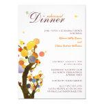 Whimsical Trees Wedding Rehearsal Dinner 13 Cm X 18 Cm Invitation Card