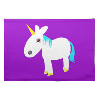whimsical unicorn placemat