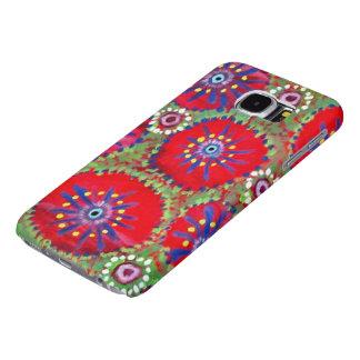 Whimsical Watermelon Pinwheel Samsung Galaxy S6 Cases