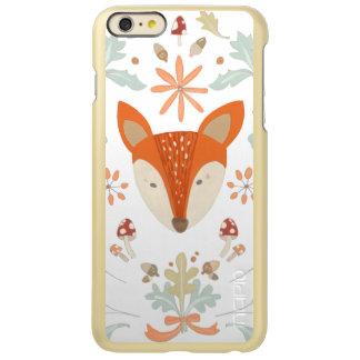Whimsical Woodland Fox