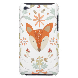 Whimsical Woodland Fox Barely There iPod Cover