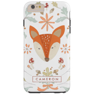Whimsical Woodland Fox Tough iPhone 6 Plus Case