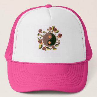 Whimsical Yin Yang Trucker Hat