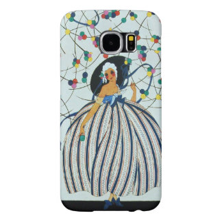 WHIMSICAL YOUNG GIRL  / Beauty Fashion Samsung Galaxy S6 Cases