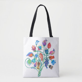 Whimsy Bouquet Tote