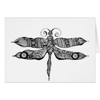 Whimsy Dragonfly Greeting Card