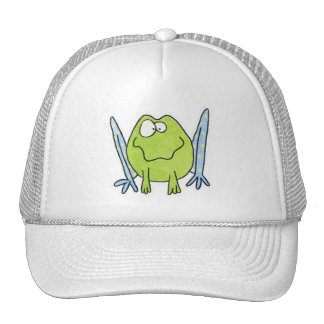 Whimsy Frog Cap