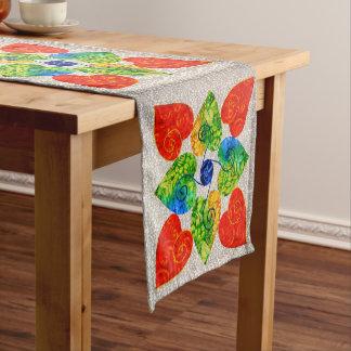 Whimsy Heart Quilt Table Runner