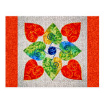 Whimsy Hearts Quilt - Block #1 Postcard