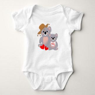 Whimsy Koala Mother & Baby Baby Bodysuit