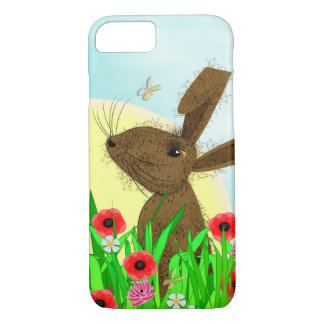 Whimsy March Hare Spring Flowers iPhone 8/7 Case