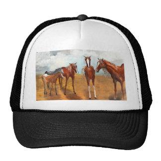 Whimsy Mustangs Trucker Hats