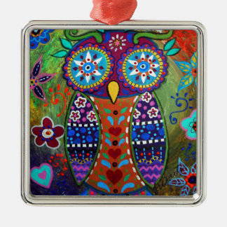 whimsy owl christmas ornament