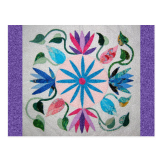 Whimsy Quilt Postcard