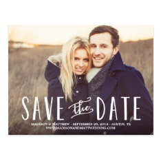 Whimsy | Save the Date Postcard at Zazzle