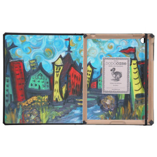 Whimsy Town DODO CASE in bright colors iPad Covers