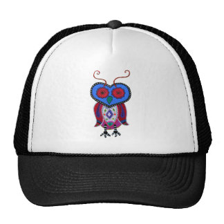 Whimsy wise Owl by Prisarts Cap