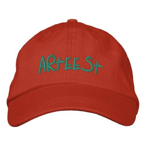 """WhimsyMonger """"Arteest"""" Artist cap Embroidered Baseball Cap"""