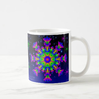 WhimsyQuest Kaleidoscope Mug Purple Lovers