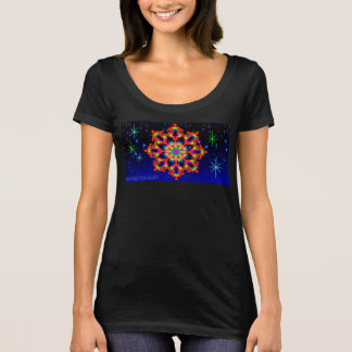 WhimsyQuest Kaleidoscope T-Shirt Orange Lover W's