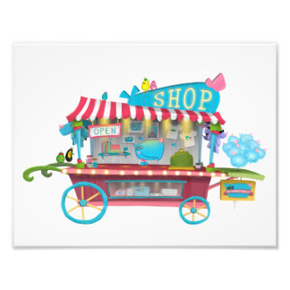 Whiny Whiny Shop Stand Photo Print