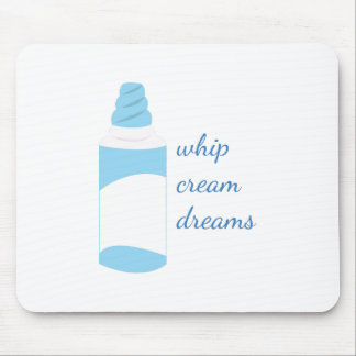 Whip Cream Dreams Mouse Pad