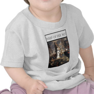 WHIP OF HER WIT -Jeanne au bucher T-shirts