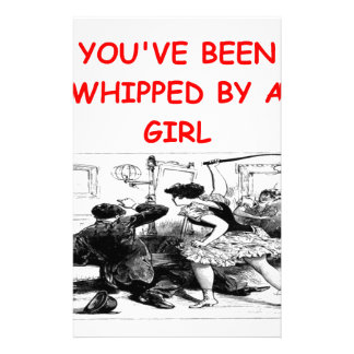 whipped stationery paper