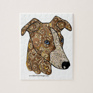 Whippet 8x10 Photo Puzzle with Gift Box