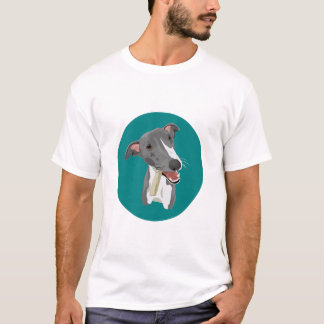 Whippet Badge T-shirt