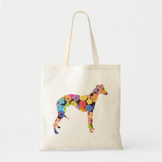Whippet Budget Tote Bag