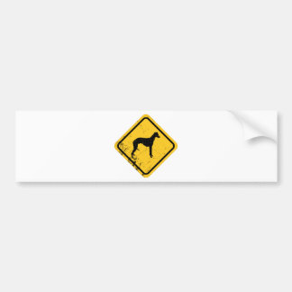 Whippet Bumper Sticker