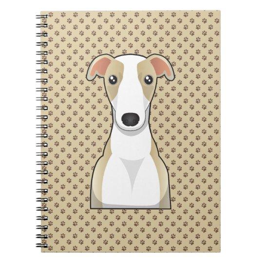 Whippet Cartoon Notebook