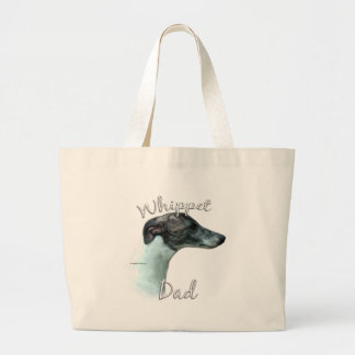 Whippet Dad 2 Large Tote Bag