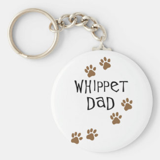 Whippet Dad for Whippet Dog Dads Key Ring