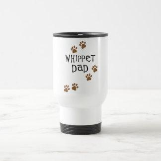 Whippet Dad for Whippet Dog Dads Travel Mug