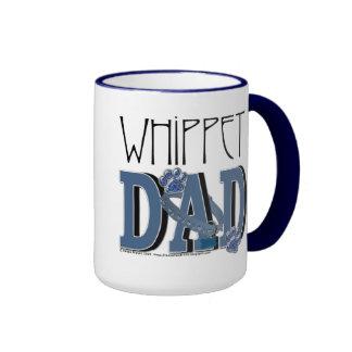 Whippet DAD Ringer Mug