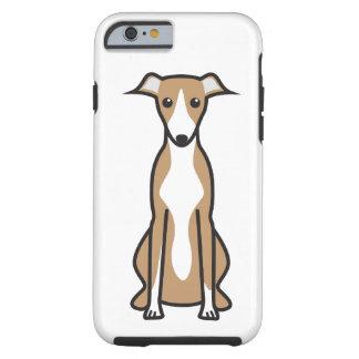 Whippet Dog Cartoon iPhone 6 Case