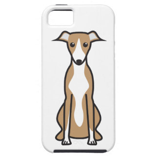 Whippet Dog Cartoon iPhone 5 Cover