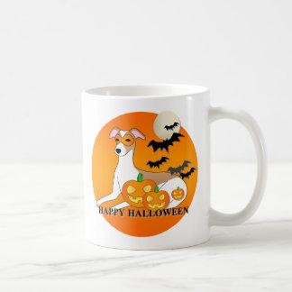 Whippet Dog Halloween Coffee Mug