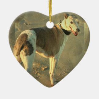 Whippet Dog Ornament