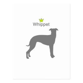 Whippet g5 postcard