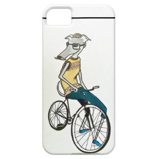 Whippet hipster (bike) iPhone 5 cover