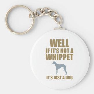 Whippet Key Ring