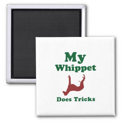 Whippet Fridge Magnets