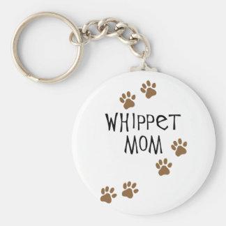 Whippet Mom for Whippet Dog Moms Key Ring