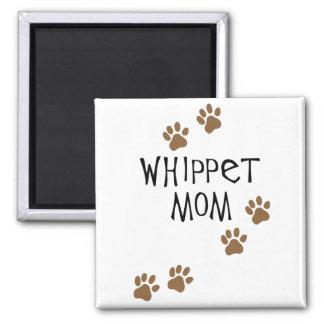Whippet Mom for Whippet Dog Moms Square Magnet
